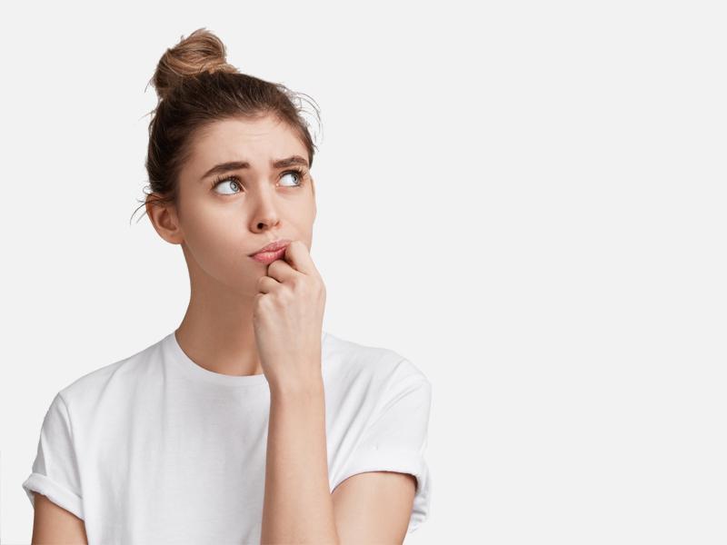 blog herpes vrouw twijfelt